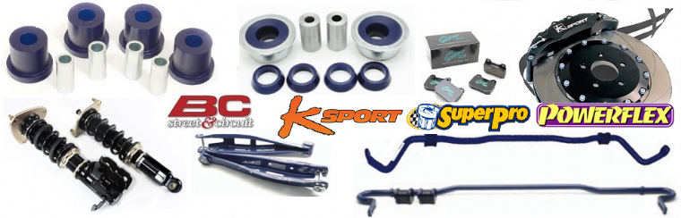 BC K-Sport Powerflex & SuperPro Chassis & Bush Kits Available From Advanced Automotive